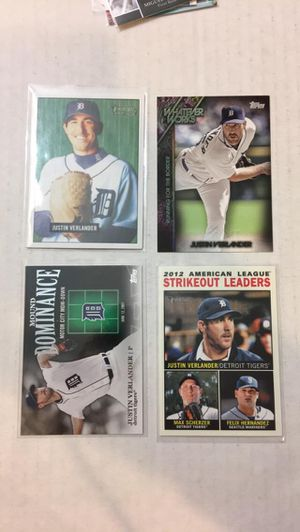 Justin Verlander Baseball Cards for Sale in Bothell, WA