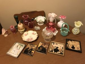 Various Antique glassware and Collectibles for Sale in St. Louis, MO