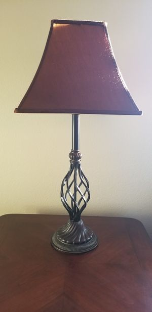 LAMP WITH SHADE! (Only one) for Sale in Rancho Cucamonga, CA
