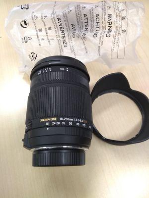 Brand New Sigma Nikon Nikkor AF-S mount 18-250mm camera lens lenses for Sale in San Jose, CA