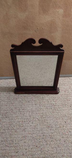 Wood-framed vanity mirror for Sale in Seattle, WA