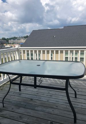 Outdoor Dinner Table for Sale in Morgantown, WV