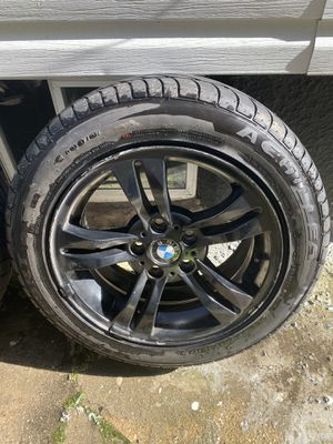 "BMW X3 OEM Wheels 17"" BLK for Sale in Queens, NY"