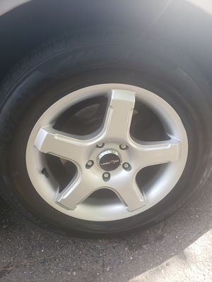 """16"""" rims with tires for Sale in Windsor, CT"""