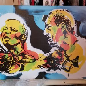 Boxing Printed Canvas 45 X 30 for Sale in Houston, TX