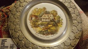 Carson puter plate with mural for Sale in OH, US