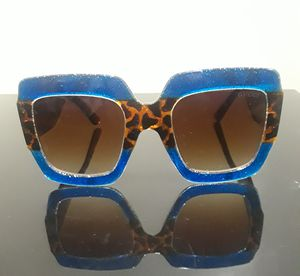 Cheetah Print blue and brown Gucci Sunglasses for Sale in Odenton, MD