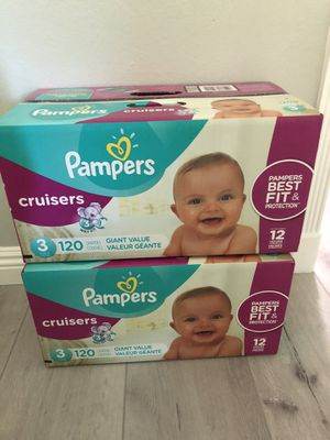 Brand New Pampers size 3 diapers for Sale in San Francisco, CA