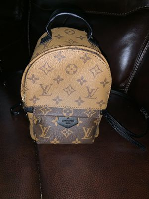 Reversible monogram mini backpack for Sale in Cleveland, OH