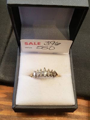 Size 7 diamond ring 14K for Sale in Pflugerville, TX