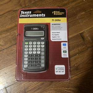 Texas Instrument TI-30 Xa for Sale in Woodbridge Township, NJ
