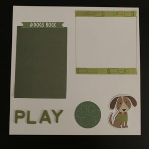 Scrapbook for dogs - playtime page! for Sale in Hayward, CA