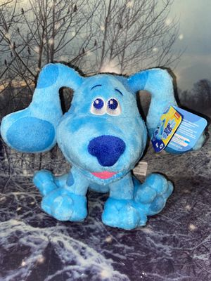 """New Blues Clues & You Blue 8"""" Plush for Sale in Bellflower, CA"""