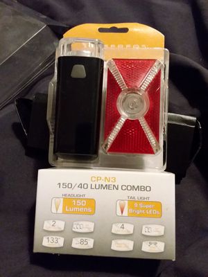 Bicycle light set by Serfas for Sale in Vacaville, CA