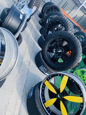 Affordable wheels and tires / llantas y rines económicos for Sale in Nashville, TN