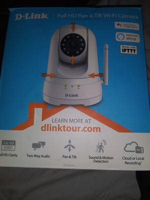 D-Link Full HD Pan and Tilt Wi-Fi Camera for Sale in Phoenix, AZ