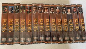 Authentic unopened ORIGINAL ROOTS vhs series for Sale in Long Beach, CA