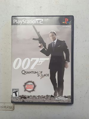 007 quantum of solace for ps2 for Sale in Modesto, CA