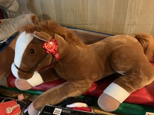 2 Large stuff toy horses for Sale in Minneapolis, MN