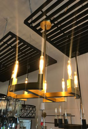 Modern gold chandelier for Sale in Los Angeles, CA