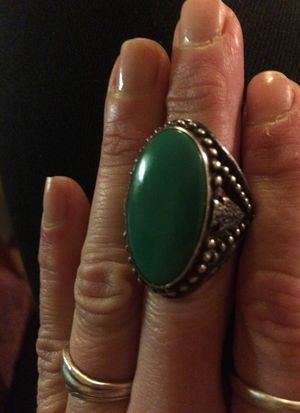Sterling Silver, Antique, Turquoise Ring for Sale in Junction City, OR