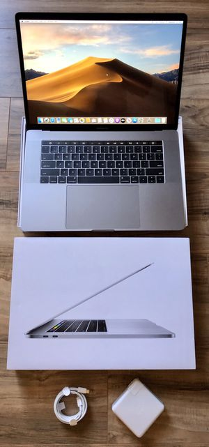"""2018 15"""" MacBook Pro Touch Bar 6-Core i7 Retina Display Apple Equivalent Performance to 2019 and 2020 16"""" for Sale in Los Angeles, CA"""