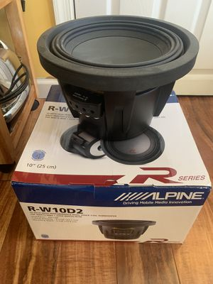 "Alpine RType 10"" 2 subs in offer for Sale in Alexandria, VA"