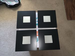 4 PIECE MIRROR WALL SET for Sale in Denver, CO