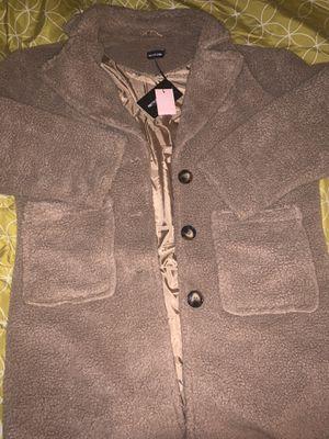 Teddy bear coat for Sale in Upper Marlboro, MD
