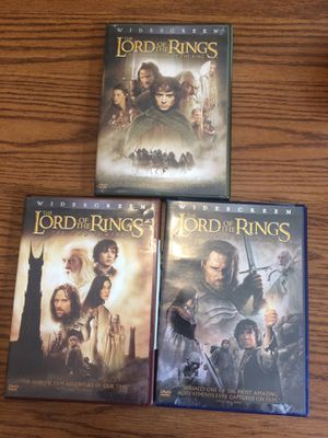 Lord of the Rings DVDs for Sale in House Springs, MO
