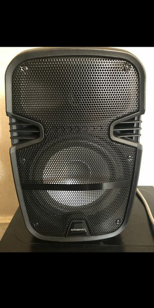 Bluetooth rechargeable party speaker with colors for Sale in Trenton, NJ