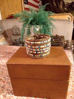 Vintage Beaded Cuff Bracelet for Sale in Pensacola,  FL