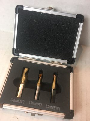 3 piece Spot Welder Drill cutter welder spot removal HSCO Titanium Bits for Sale in Santa Ana, CA