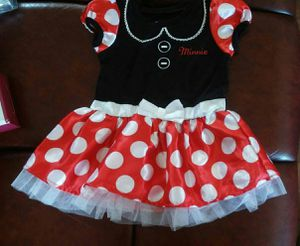 Minnie Mouse Polka Dots Dress Size 12 Months By Disney for Sale in Carson, CA