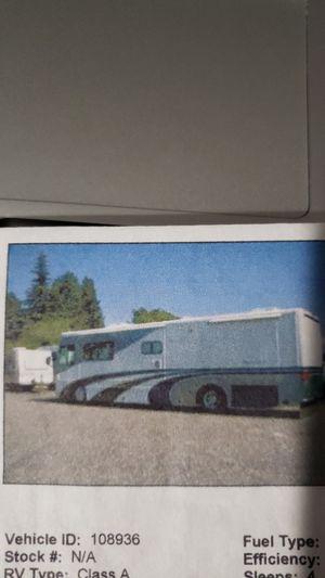 2001 Alpine coach diesel pusher RV for Sale in Sacramento, CA