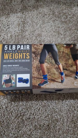 CAP 5 lbs. Ankle/wrist weights for Sale in Federal Way, WA