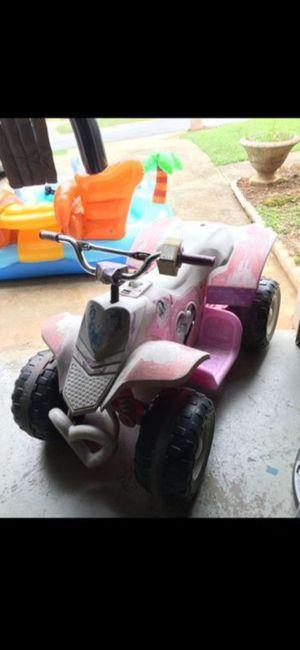 Power Wheels, Disney princess 4 wheeler for Sale in Flowery Branch, GA