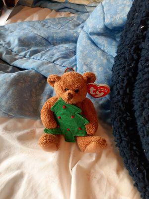 Xmas beanie babie bear for Sale in Auburn, WA