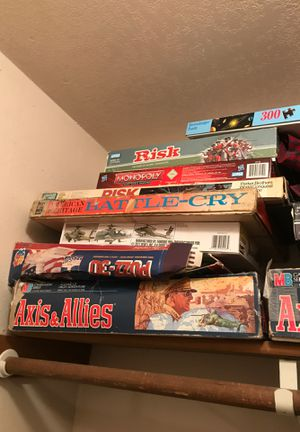 Board games / axis and allies / risk / monopoly for Sale in Silverton, OR