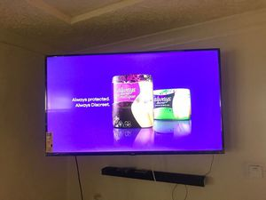 "55"" TCL smart roku tv for Sale in Milwaukee, WI"