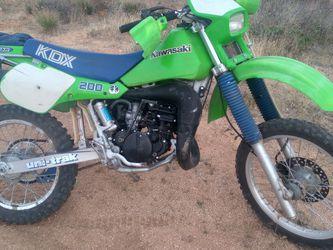 kawasaki kdx200 for Sale in Phoenix, AZ
