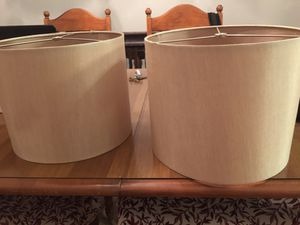Table lamp SHADES for Sale in Tampa, FL