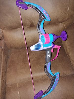 Nerf Rebelle Secrets & Spies Arrow Revolution Bow Blaster for Sale in Vista, CA