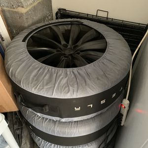 "4x Tesla 22"" Onyx Model X Rims for Sale in Scotch Plains, NJ"