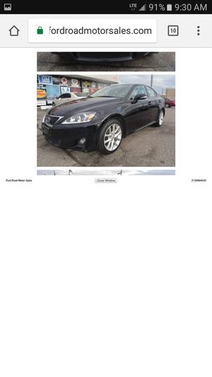 2012 Lexus IS 250 AWD for Sale in Dearborn, MI