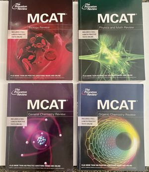 Princeton Review MCAT Review Set for Sale in Long Beach, CA