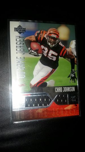 Chad Johnson jersey card for Sale in Phoenix, AZ
