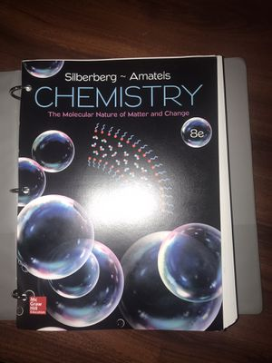 Chemistry book for Sale in Kingsville, TX