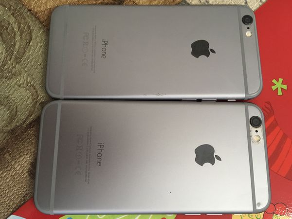 I have 2 iCloud locked iPhone 6 (both for parts only)