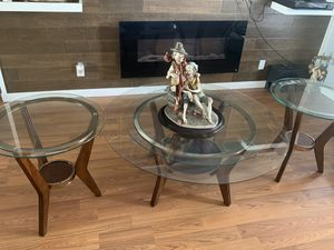 Coffee Table and side tables. for Sale in Sunrise, FL